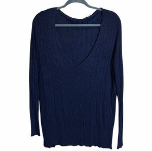 Anthropologie Kimchi Blue Pullover Ribbed Sweater